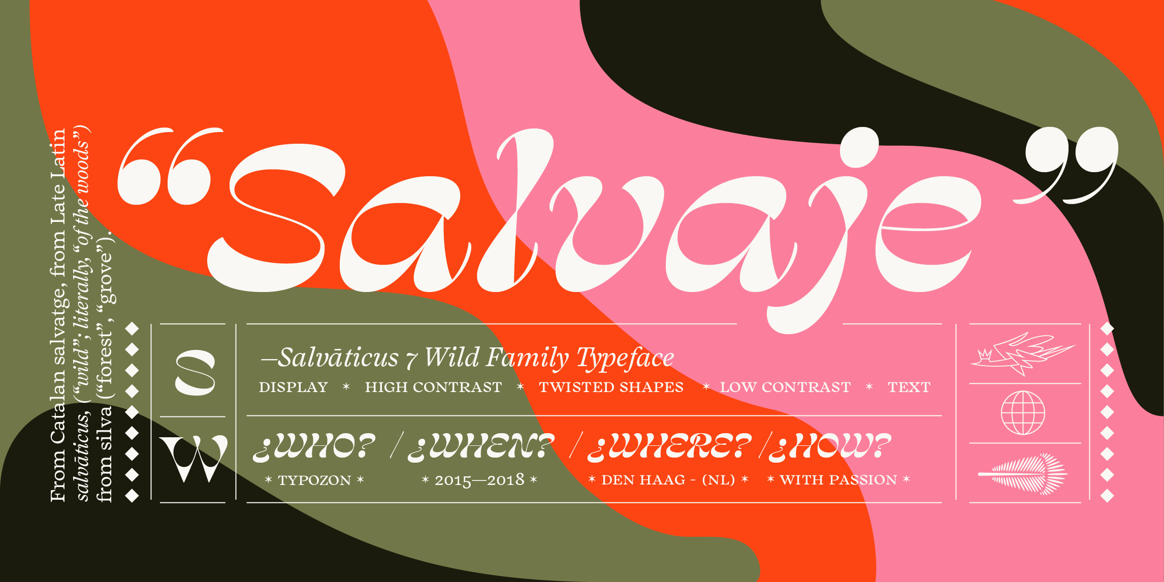 Salvaje by Typozon